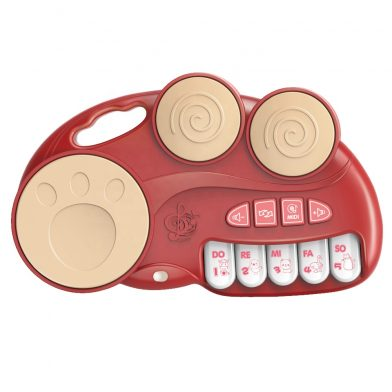 Openhaft - Zabawka muzyczna TRZY bębny z keyboardem