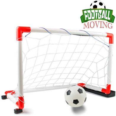 Openhaft - Przenośna bramka do piłki nożnej i mini piłki nożnej dla dzieci z muzyką